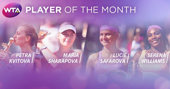 wta player of the month