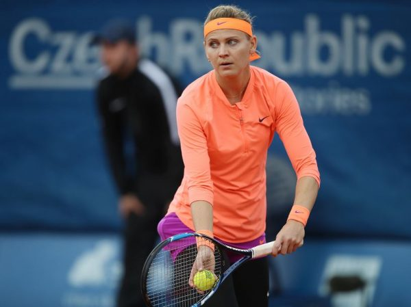 Lucie withdraws from Prague Open due to illness