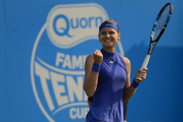 Lucie played her best tennis this week in Birmingham and reached her second consecutive semifinals