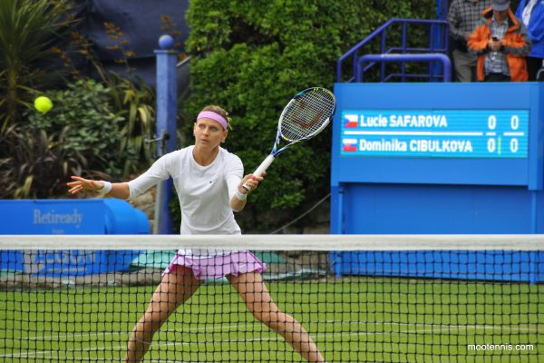 her first round tomorrow (13th of June), against the qualifier Grace Min (#WTA 206)