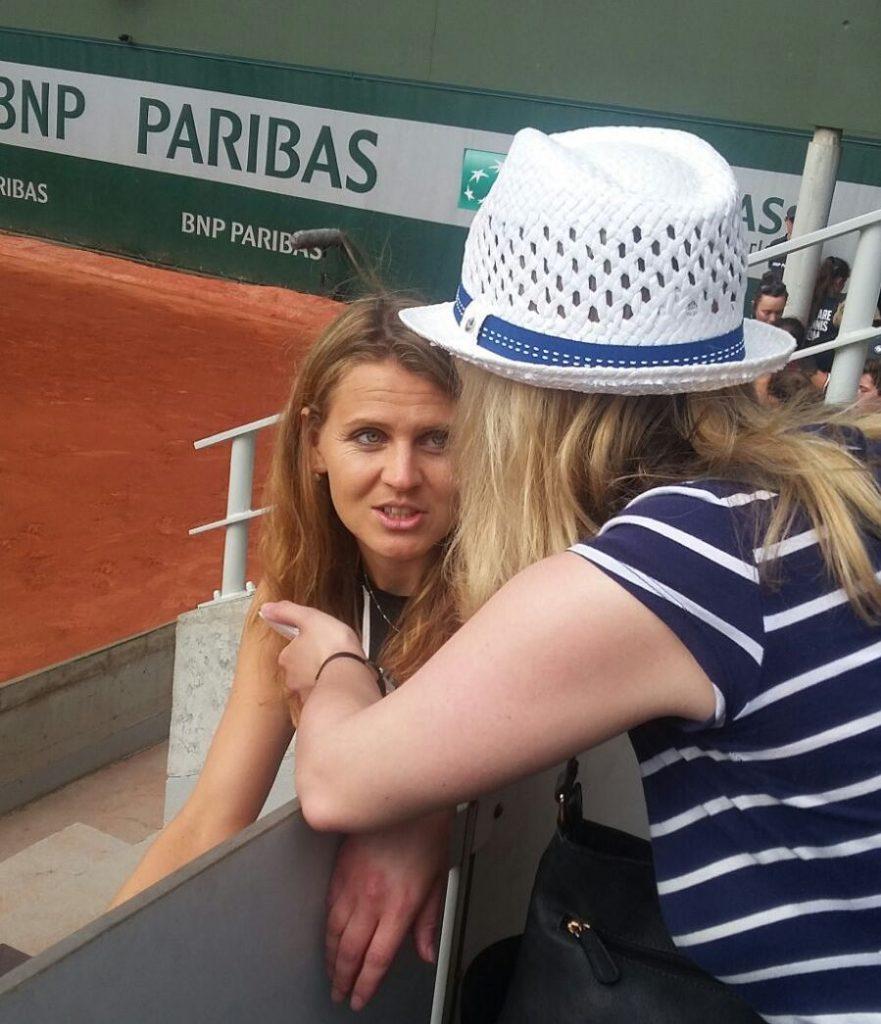 Exclusive interview with Lucie Safarova-Part II - Roland Garros