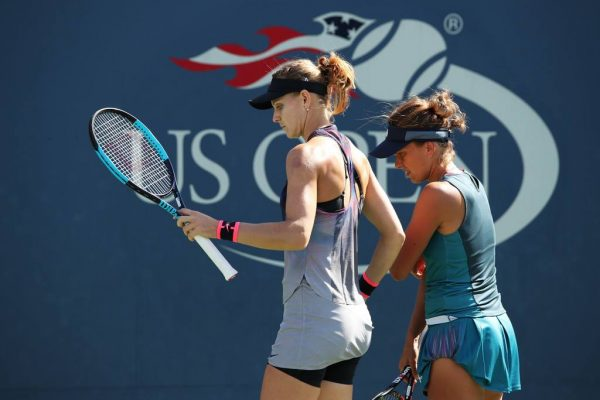 Lucie and Barbora were eventually defeated in the US Open semifinals by Fed Cup teammates Hradecka/Siniakova (2-6, 5-7)
