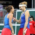 Fed Cup: Czechs defeat Switzerland 3-1